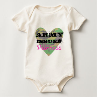 Army Issued Princess Baby Bodysuit