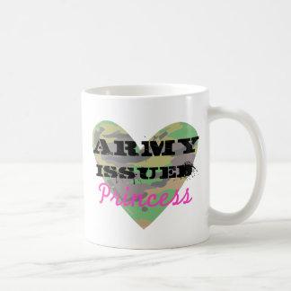 Army Issued Princess Classic White Coffee Mug