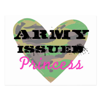 Army Issued Princess Postcard