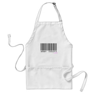 Army Issued Wife Adult Apron
