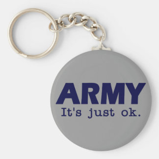 Army. It's just ok. - USAFA colors - keychain