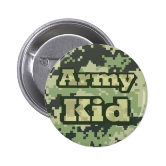 Army Kid Button