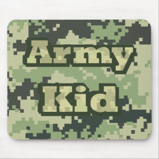 Army Kid Mouse Pad