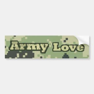 Army Love Bumper Sticker