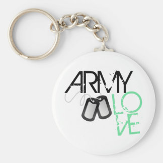 Army Love Keychain