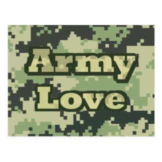 Army Love Postcard