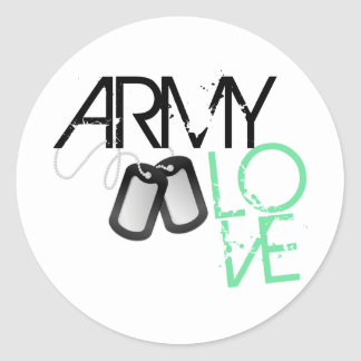Army Love Stickers