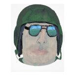 Army Man Personalized Letterhead