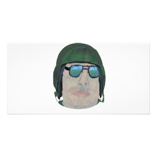 Army Man Picture Card