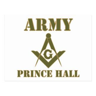 Army Masonsonic Design No. 1 PHA olive Postcard