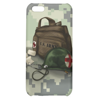Army Medic Camo iPhone 5C Covers