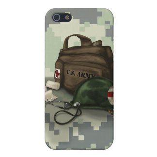 Army Medic Camo iPhone SE/5/5s Cover