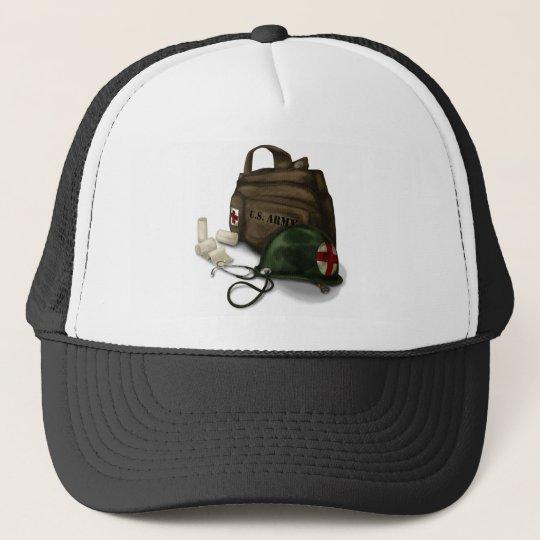 Army Medic Trucker Hat