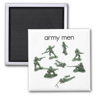 Army Men Refrigerator Magnet