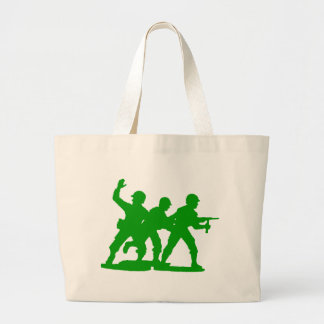 Army Men Squad Large Tote Bag
