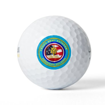 Army Military Intelligence Veteran Golf Balls