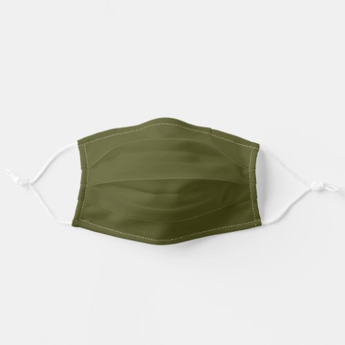 Army Military Khaki Green Adult Cloth Face Mask