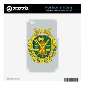 Army Military Police Corps Skin For iPod Touch 4G