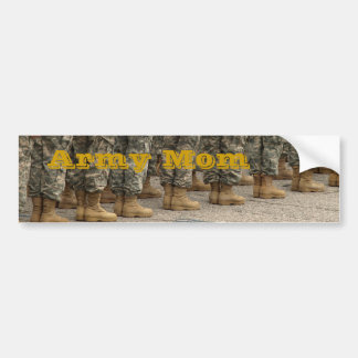 Army Mom bumper sticker