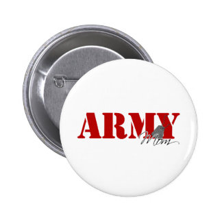 Army Mom 2 Inch Round Button