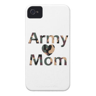 Army Mom Camo Heart iPhone 4 Cover