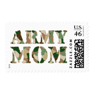 Army Mom camo Postage Stamps