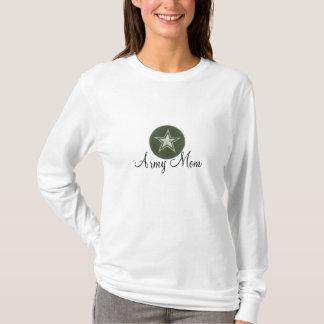 Army Mom Military Family Star Logo T-Shirt