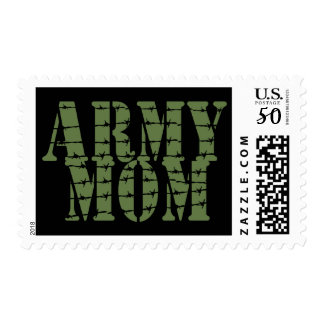 Army Mom Postage Stamp