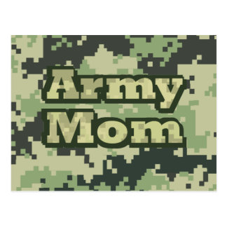 Army Mom Postcard