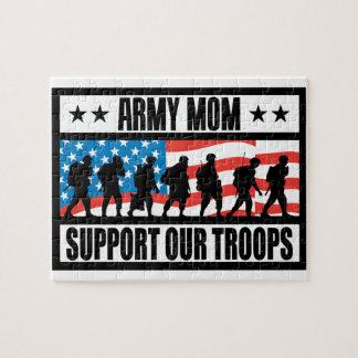 ARMY MOM JIGSAW PUZZLES