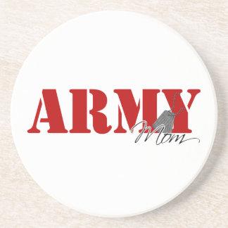 Army Mom Sandstone Coaster
