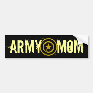 ARMY MOM STAR BUMPER STICKER