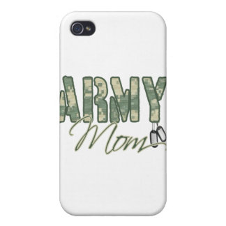 army mom with dog tags copy iPhone 4 covers