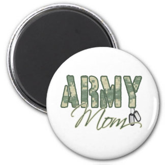 army mom with dog tags copy refrigerator magnet