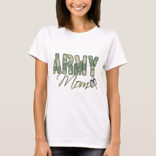 Army Mom With Dog Tags Copy T Shirt