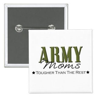 Army Moms Button