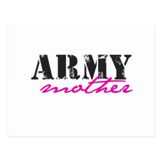 army mother postcard