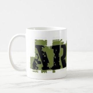 ARMY MUG GREEN AND BLACK