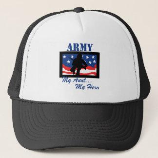 Army My Aunt My Hero Trucker Hat