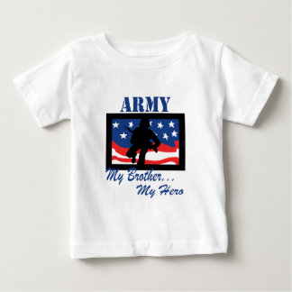Army My Brother My Hero Baby T-Shirt
