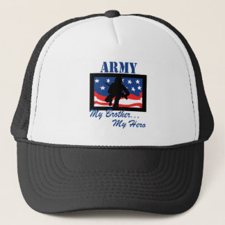 Army My Brother My Hero Trucker Hat