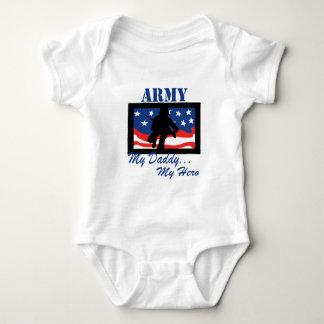 Army My Daddy My Hero Baby Bodysuit