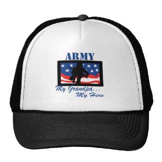 Army My Grandpa My Hero Trucker Hat