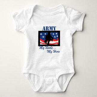 Army My Uncle My Hero Baby Bodysuit