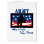 Army My Uncle My Hero Greeting Card