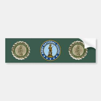 Army National Guard Basic Recruiter Bumper Sticker