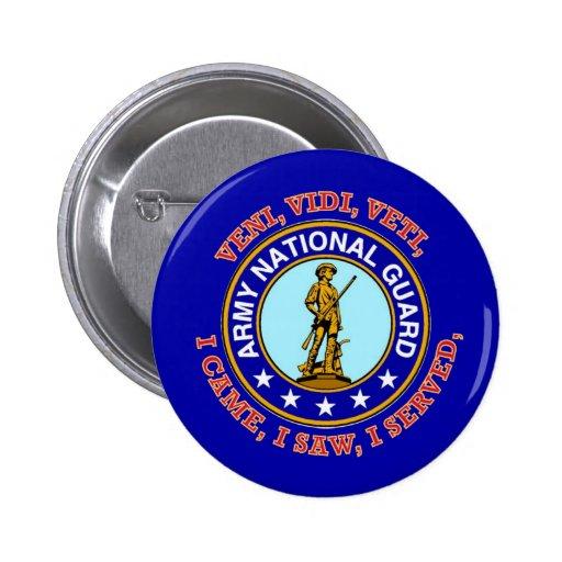 Army National Guard Logo Pins
