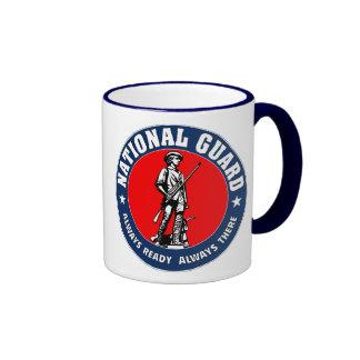 Army National Guard Logo Military Ringer Mug
