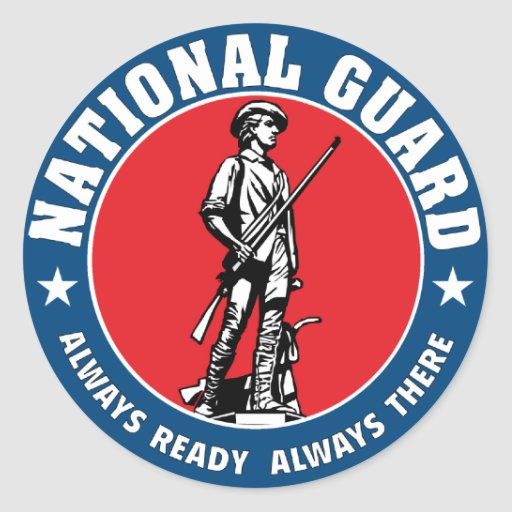 national guard minuteman logo
