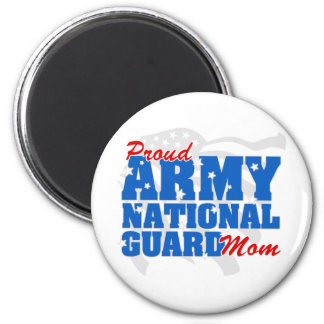 Army National Guard Mom 2 Inch Round Magnet